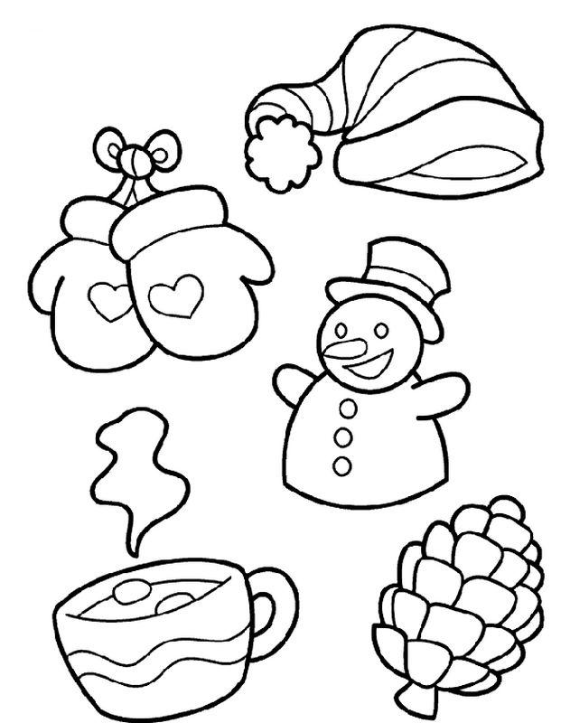 Ausmalbilder Winter Und Schnee Bild Winter Ausmalbilder